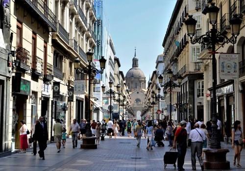 Ofertas hoteleras de Zaragoza - Calle principal