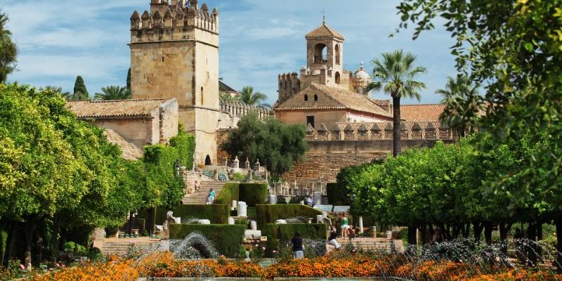 NH Córdoba Califa - Jardines del Alcázar de los Reyes Cristianos Códoba