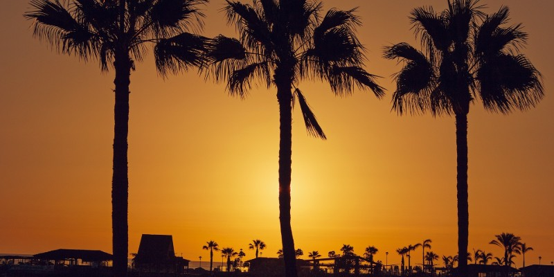 Hotel BlueBay Beach Club - Atardecer en Gran Canaria