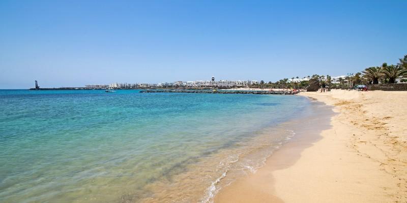 Hotel Barceló Teguise Beach en Lanzarote - Playa de las Cucharas