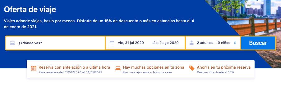 Descuentos Booking 2020 - Ofertas de Viaje