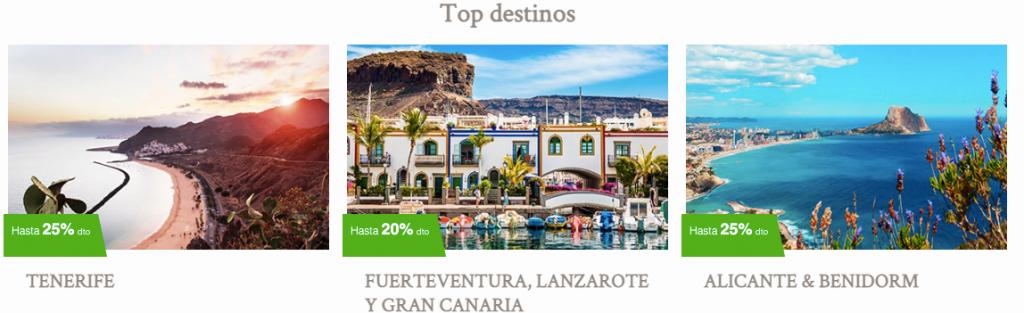 Top Destinos Ofertas Meliá Hoteles Verano 2021